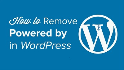 How To Remove Proudly Powered By WordPress link From Footer - 4 Simple Ways Using 2 methods